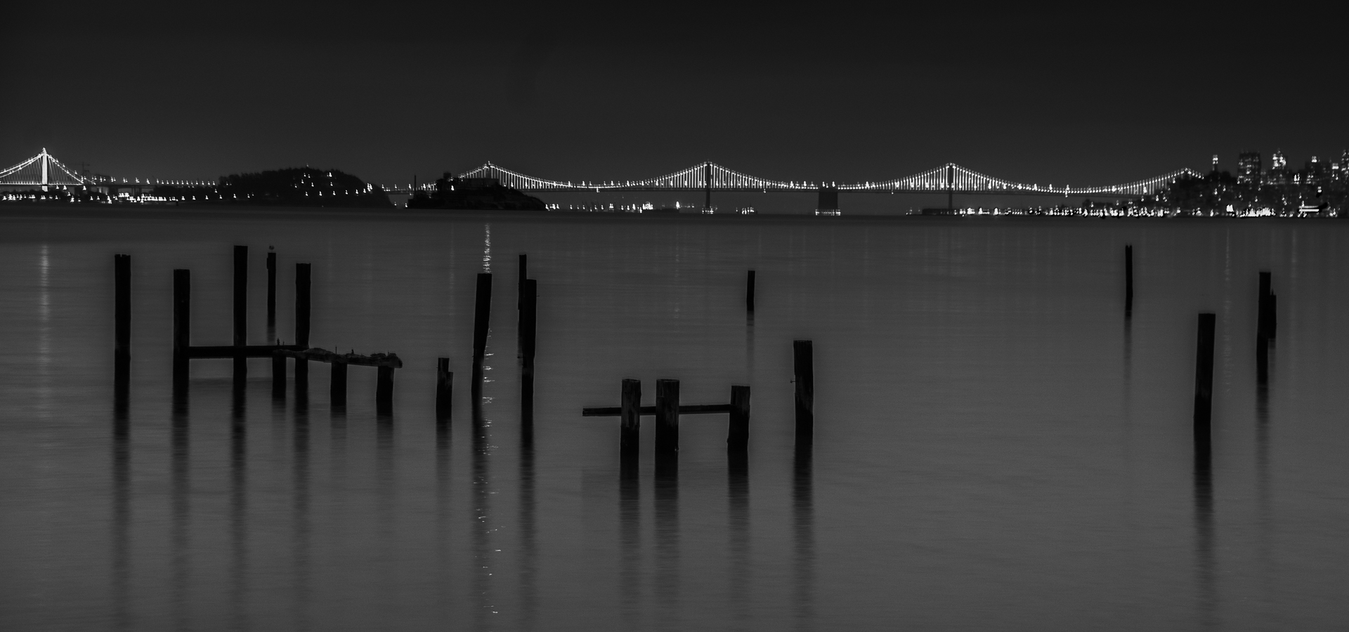 'Sausalito Piers Before Dawn' (PB 1 Place) by Steve Weissberg - MR