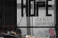 'Homeless Man Sleeping in the Tenderloin District of San Francisco' (JB 1 Place) by Steve Weissberg - MR