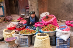 'Salt & Pepper, Woman selling goods in marketplace, Kathmandu, Nepal' (TB 1 Place) by Cindee Beechwood - MR