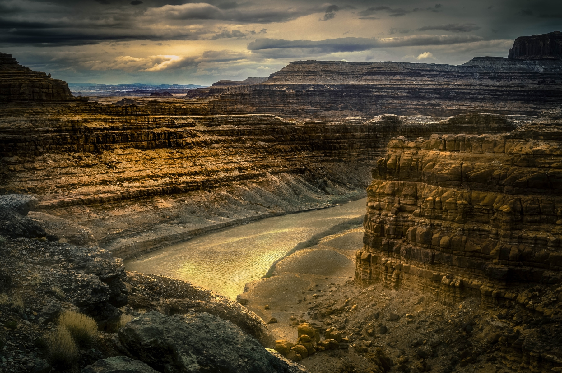 'Colorado River, Utah' (PA 1 Place) by Eric Gold - LS