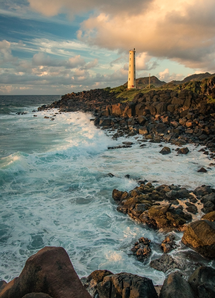 'Ninini Lighthouse, Kauai, HI.' (PI 1 Place) by Susan Andrews - CC