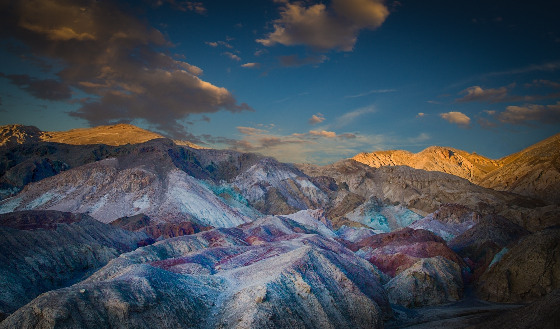 'Artist's Palette, Death Valley at Sunset' (PB 1 Place) by Dana Christensen - MR