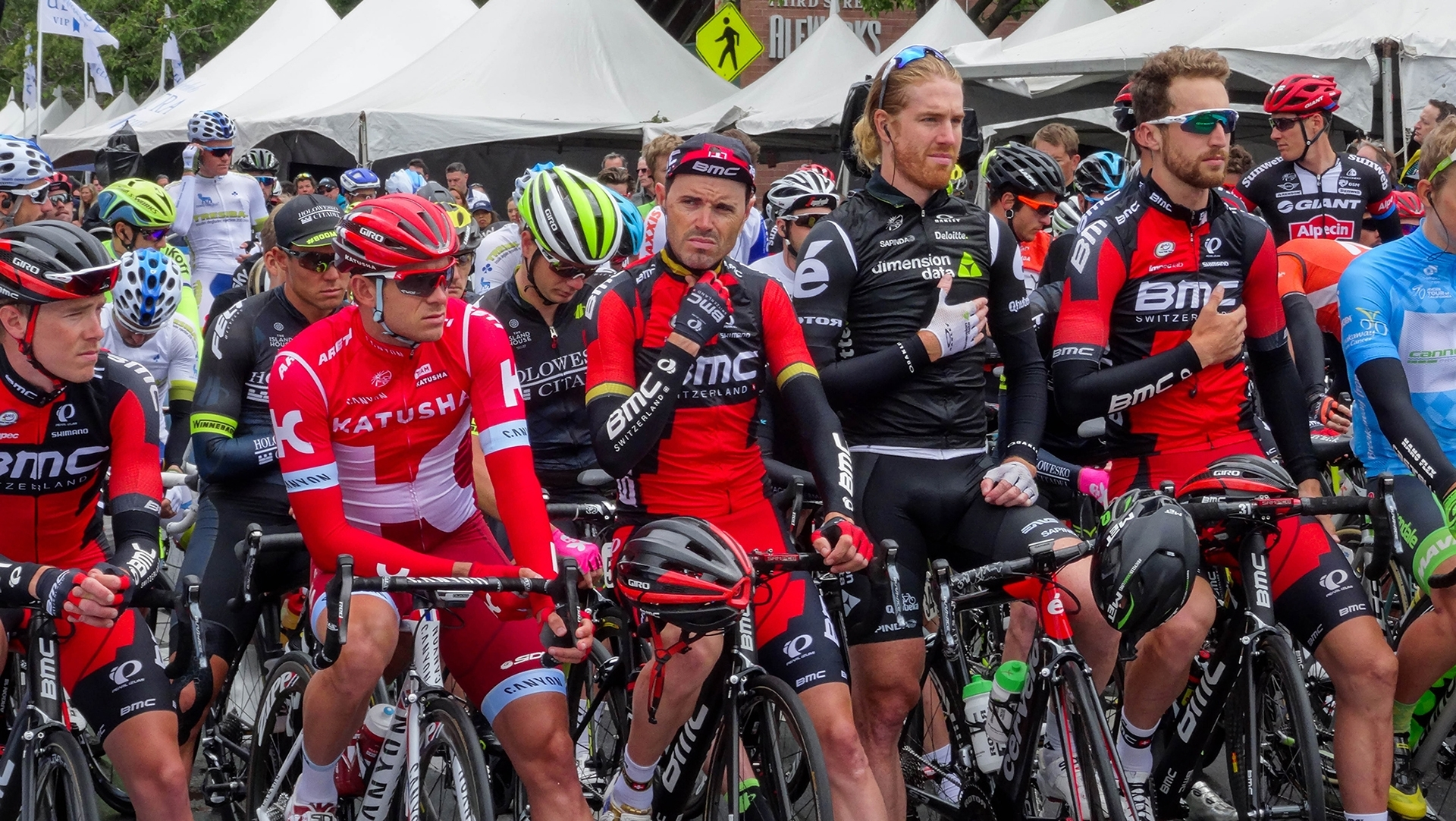 'Last Stage Of 645 Mile Amgen Tour Sacramento CA' (JI 1 Place) by Sharon Anderson - CC