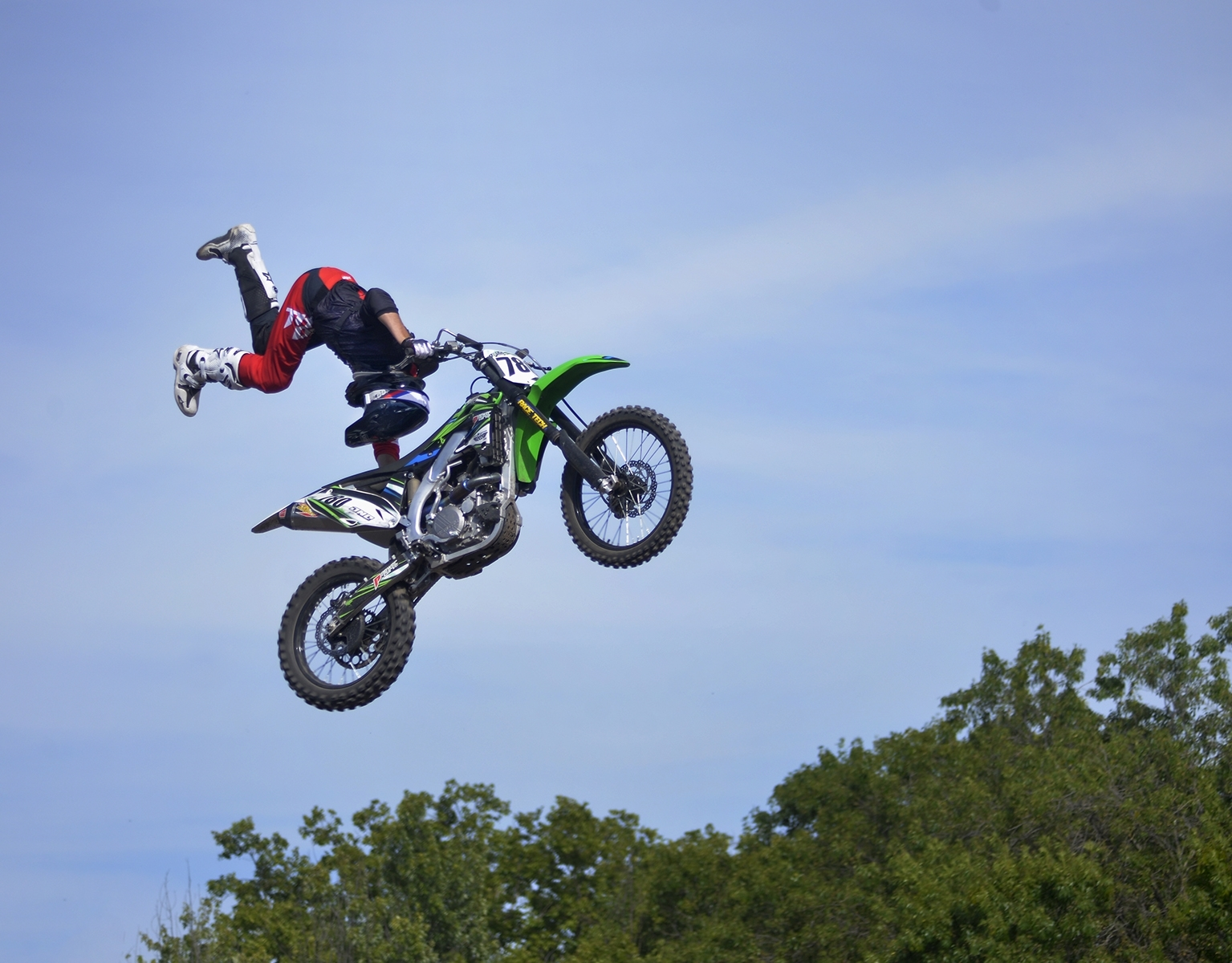 'Motorcross Tricks at the Alameda Fair, Staring the Trick' (JM 1 Place) by Jane Postiglione - CC